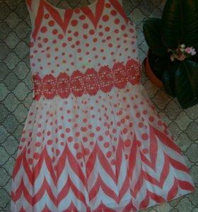 Платье шифон. Новое