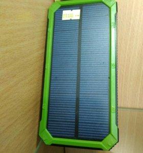 Внешний аккумулятор на солнечной панели ЕК-3