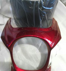 Пластик фары на Honda cb400