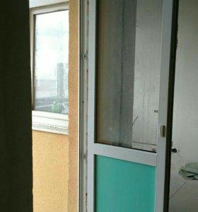 Дверь балконная пластиковая