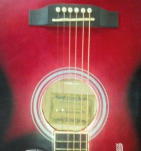 Акустическая гитара Jonson