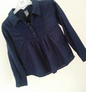 Рубашка Распашенка Zara 98см
