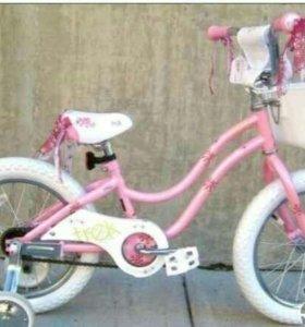 Велосипед детский от 4 до 7 лет