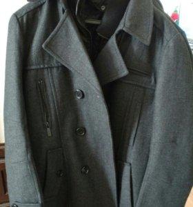 Пальто мужское демисезонное весна-осень