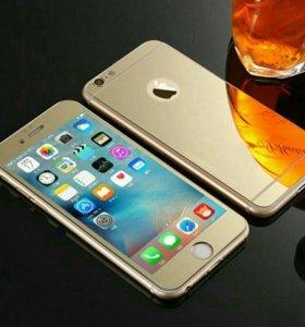 стекло  3D   iphone. 4, 4s. 5, 5s 6, 6s,  7,