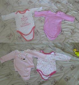 Одежда для девочки от 6 месяцев