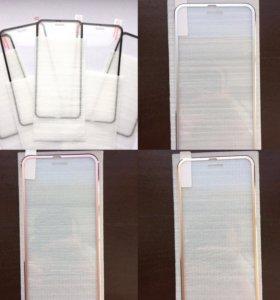 3D стёкла на iPhone 6/6s 7