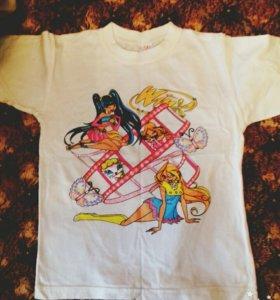 Детские новые футболки