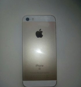 Iphone se gold 16