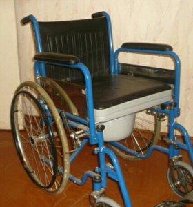 Кресло-коляска инвалидная с туалетным устройством