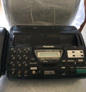 Факс и телефон Panasonic