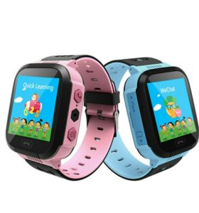 Умные детские GPS часы Q528 - сенсорные