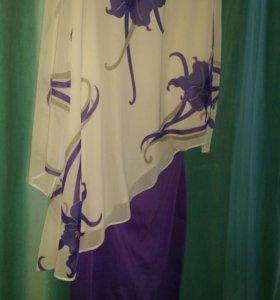 Костюм (юбка+блузка)
