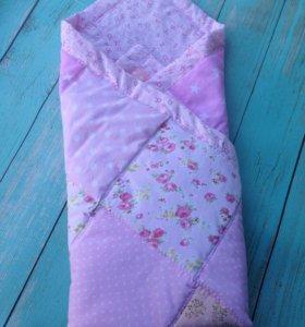 Детское одеялко новое , ручная работа