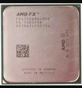 Процессор AMD fx 4300 OEM