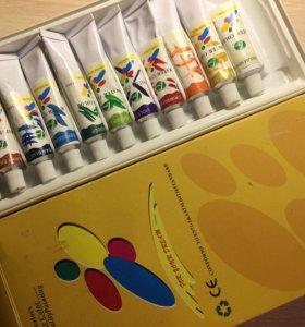 Краска для росписи ногтей. На водной основе...
