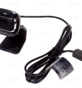 Веб камера Microsoft hd3000 + микрофон