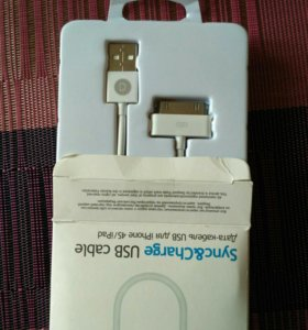 Кабель Deppa USB - Apple iPhone, iPod, iPad