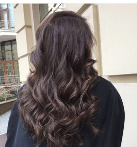 Волосы на капсулах (славянка люкс) 200 прядей