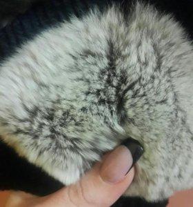 Шубка из кролика Рекса.