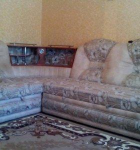 Мягкий угол, одно кресло-кровать