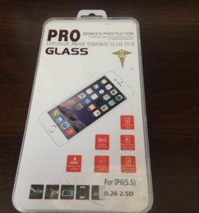 Стекло защитное iPhone 6