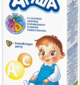 Молоко литровое Агуша