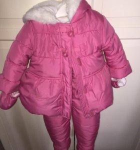 Куртка и полукомбинезон mothercare