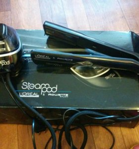 Отпаривающий утюжок для волос SteamPod