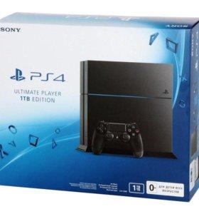 Sony PlayStation 4. (1 TБ), новая