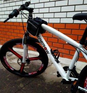 Горные велосиды на дисковых колесах