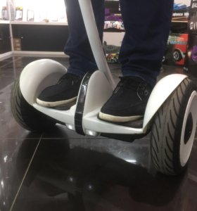 Сигвей ninebot mini белый Черный
