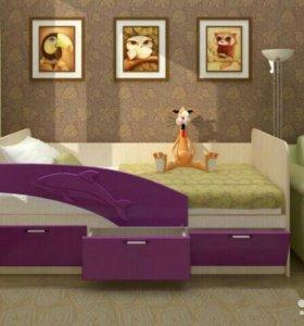 Кровать Дельфин фор.