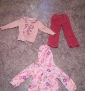 одежда на 2-2,5 года
