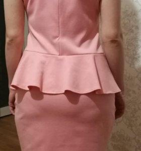 Платье с баской 48-50