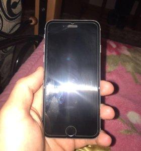 iPhone 6 черный 16 гиг