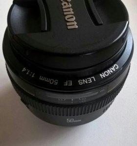 Обьектив canon EF 50mm f 1/4