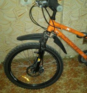 Велосипед с дисковыми тормозами