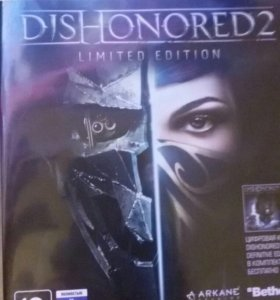 Dishonored 2 для PS 4