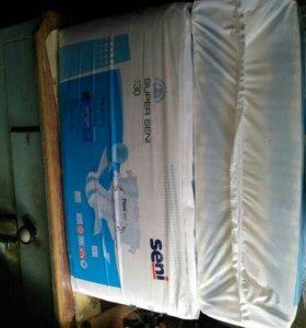 Памперсы для взрослых  размер L  100-150см