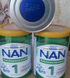 NAN 1 Кисломолочный.