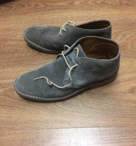 Замшевые ботинки Loake