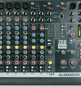 Anton: Allen Heath ZED10FX микшерный пульт б/у