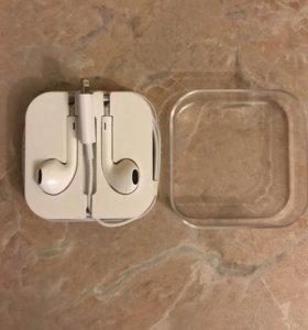 Наушники на iPhone 7 новые