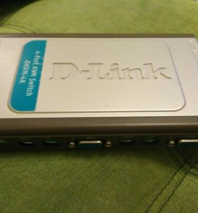 D-link 4-port kvm switch DKVM-4K