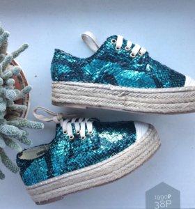 Кеды ботинки эспадрильи