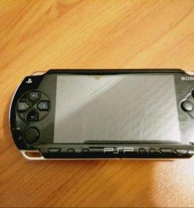 PSP-3000 Black + бонусы