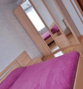 Спальня Дятьково (кровать, шкаф и 2 тумбы)