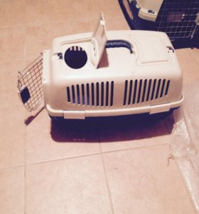 Переноска для собак и кошек clipper размер 64 /44