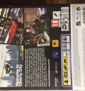 Продам диск GTA 4,для PlayStation 3